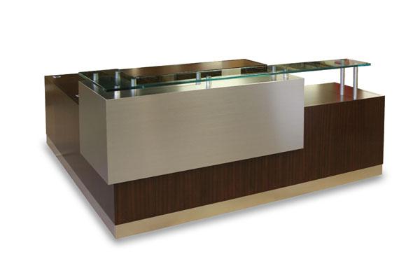 Arnold Reception Desks, Inc. - Contemporary Reception Desk: ARCUS